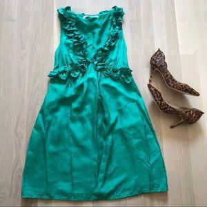 Susana Monaco Sleeveless Silk Cocktail Dress